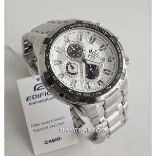 Casio EdificeEF- 539D- 7AV- WHITE DIAL