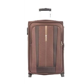 Safari REVV 2WH Brown 65 Unisex Hard Soft Luggage Trolley Bag