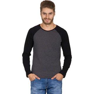 Rigo MenS Black Round Neck T-Shirt