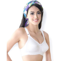 Fashions White Bra (Pack of Two)