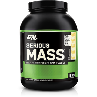Optimum Nutrition Serious Mass 6 Lbs Vanilla