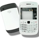 Full Body Panel for Blackberry Curve 8520 – White with Free Screen Guard