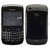 Full Body Panel for Blackberry Curve 8520 – Black with Free Screen Guard