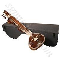 SG Musical Natural Color Sitar – Double Tumba