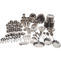 111 Pcs Stainless Steel Dinner Set - 4755