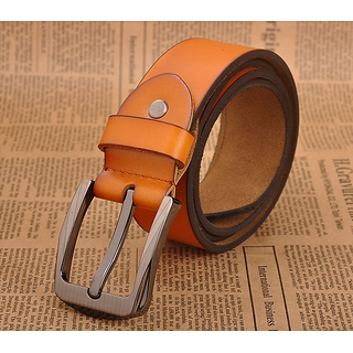 New OFF Brown Leather Belts For Men At Amazing Festival Offer Price