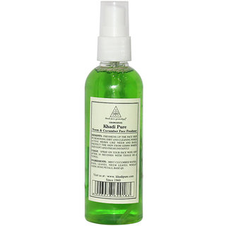 Khadi Pure Herbal Neem Cucumber Face Freshener - 100ml