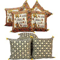 Buy Cushion Cover Set N Get Cushion Cover Set Free Design 2 COMB155