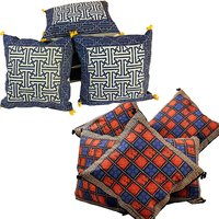 Buy Cushion Cover Set N Get Cushion Cover Set Free Design 3 COMB156