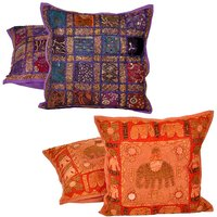 Buy Cushion Cover Set N Get Cushion Cover Set Free Design 9 COMB247
