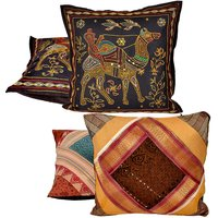 Buy Cushion Cover Set N Get Cushion Cover Set Free Design 11 COMB249