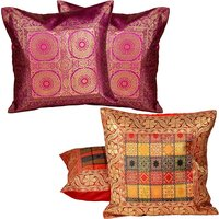 Buy Cushion Cover Set N Get Cushion Cover Set Free Design 14 COMB252