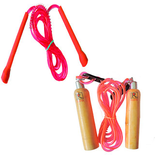 RIPR High Fly combo (Wooden skipping rope and pencil skipping rope)