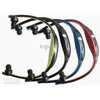New Sports MP3 Player With Wireless Headset Headphone USB TF/SD Card Slot.