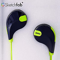 Sketchfab Bluetooth 4.1 Wireless Stereo Sport Headphones