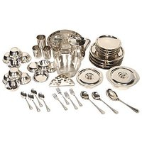 41 Pcs Stainless Steel Dinner Set - 4751