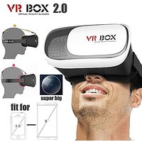Sketcfab Vr Box 2.0 Virtual Reality Glasses, 2016 3D Vr Headsets For 4.76 Inch Screen Phones