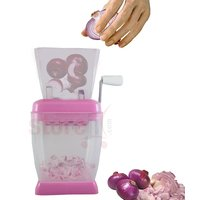 Onion And Vegetable Chopper With Rotating Blade For Fine Chopping
