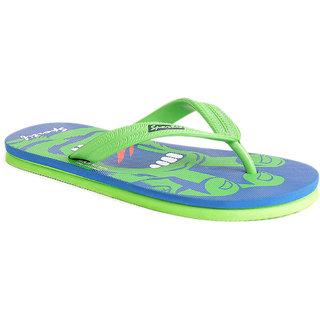 Rexona Sportif Mens Slipper Flip-Flop - GHOST-BLUE/LIME