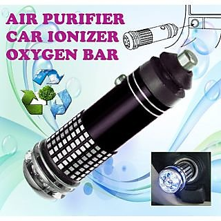 gadget hero 39 s new mini car auto ionizer fresh air purifier oxygen ozone bar cleaner deodorant. Black Bedroom Furniture Sets. Home Design Ideas