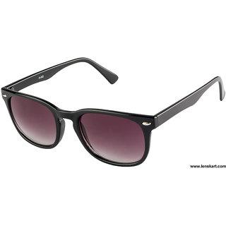 Farenheit鑱絊uperb Fa932 Black Grey Gradient Wayfarer Sunglasses