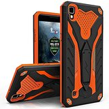 LG X Power Case, Zizo [Static Series] Shockproof [Military Grade Drop Tested] with Built-in Kickstand [LG X Power Heavy Duty Case] Impact Resistant