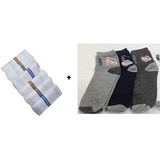 Socks(3pcs) & Handkerchiefs (3pcs)