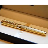 JINHAO 1200 Complete Golden Roller Ball Pen Dragon Clip