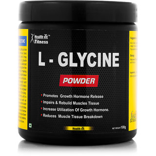 Healthvit Fitness L-Glycine Powder 100GMS