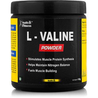 Healthvit fitness L-Valine Powder 100GMS