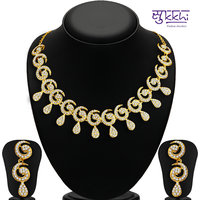 Sukkhi Gold Plated Gold Necklace Set For Women