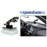 Speedwav Classy Jaguar Refillable Car Perfume - Transparent White