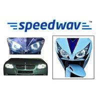 Angel Eyes Ccfl Halo Light For Car & Bikes Headlight - White