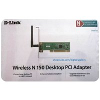 Dlink DWA-525 WiFi Adapter Internal Wireless PCI Card With Antenna For Desktop - 4844202