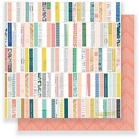American Crafts 375828 Maggie Holmes Gather 25 Pack of 12 X 12 inch Patterned Paper Details