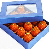 Ghasitaram'S Sugarfree Motichoor Laddoo Blue Box