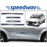Speedwav Side Beading Chrome Plated For Ford Ikon - Silver Colour