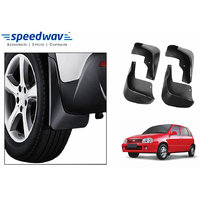 Speedwav Car Mud Flaps For Maruti Zen Set Of Four Pieces