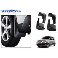 Speedwav Car Mud Flaps For Hyundai Santro Xing Set Of Four Pieces