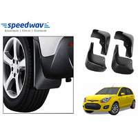 Speedwav Car Mud Flaps For Ford Figo Set Of Four Pieces