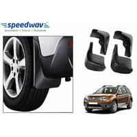 Speedwav Car Mud Flaps For Renault Duster Set Of Four Pieces