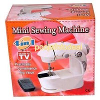 4 In 1 Mini Sewing Machine With Foot Pedal & Hand Operated Ideal Gift For Womens