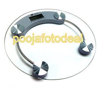 Digital LCD Electronic Weighing Scale personal bathroom scale weight machine available at ShopClues for Rs.499