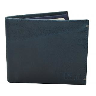 48d2255b3 Knott Exclusive Blue Leather Wallet for Men available at ShopClues for  Rs.845