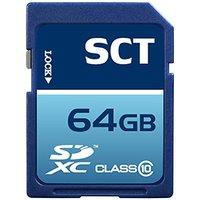64GB SD XC SDXC Class 10 SCT Professional High Speed Memory Card SDXC 64G (64 Gigabyte) Memory Card for Canon SLR EOS 650D 6D 100D 700D Rebel SL1 T5i T4i Kiss X6i M with custom formatting