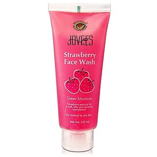 Jovees 670142 Strawberry Face Wash (120 Ml)