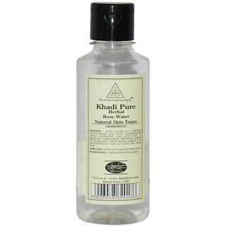 Khadi Pure Herbal Rose Water - 210ml
