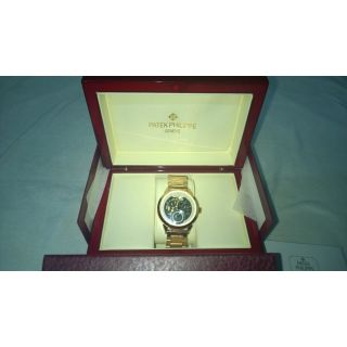 PATEK PHILIPPE GOLDEN BRIDGE AUTOMATIC LIMITED EDITION - ORIGINAL BOX & PACKING