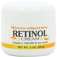 Retinol Cream (Vitamin A 100,000 Iu Per Ounce) - 2 Oz
