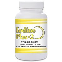 Natural Living Iodine Plus 2 For Low Thyroid - 1 Bottle